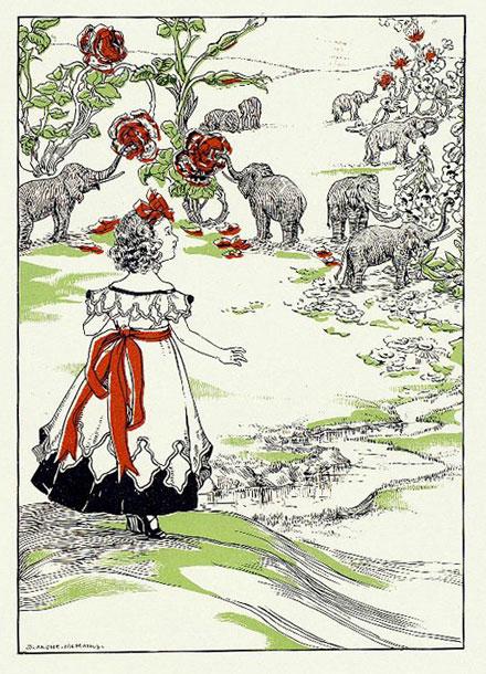 Le figure dei libri blog archive alice attraverso lo specchio blanche mcmanus 1899 - Alice dietro lo specchio ...