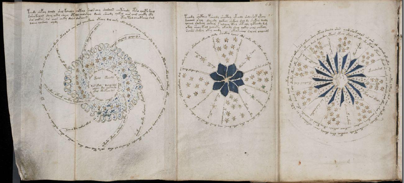 Pagina del Manoscritto Voynich 4-2